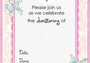 Free Printable Baptism Invitations Templates Free Christening Invitation Cards