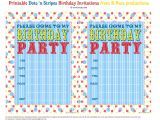 Free Printable Birthday Invitation Bnute Productions Free Printable Dots N Stripes Birthday
