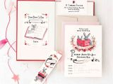 Free Printable Book themed Baby Shower Invitations Book themed Baby Shower