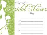 Free Printable Bridal Shower Invitations Bridal Shower Invitations Easyday