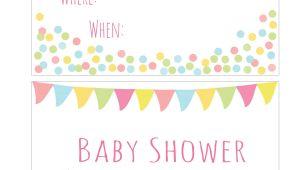 Free Printable Christmas Baby Shower Invitations Free Printable Baby Shower Invitation Easy Peasy and Fun