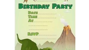 Free Printable Dinosaur Birthday Invitations 19 Roaring Dinosaur Birthday Invitations