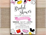 Free Printable Disney Bridal Shower Invitations Disney Bridal Shower Invitation Printable Disney Engagement