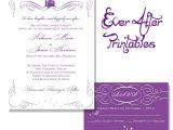 Free Printable Disney Bridal Shower Invitations Wedding Invitation Wording Wording