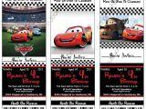 Free Printable Disney Cars Birthday Party Invitations Disney Cars Birthday Invitations Printables