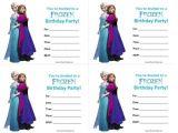 Free Printable Disney Frozen Birthday Invitations 25 Best Ideas About Free Frozen Invitations On Pinterest