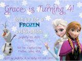 Free Printable Disney Frozen Birthday Invitations Free Printable Disney Frozen Birthday Invitations
