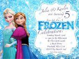 Free Printable Disney Frozen Birthday Party Invitations Frozen Invitations