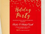 Free Printable Elegant Christmas Party Invitations Christmas Cards Holiday Party Invitations Elegant Red