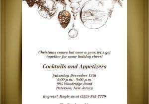 Free Printable Elegant Christmas Party Invitations Elegant Christmas Invitations Templates Free