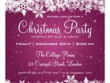 "Free Printable Elegant Christmas Party Invitations Elegant Christmas Party Snowflakes 2 Pink 5 25"" Square"