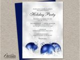 Free Printable Elegant Christmas Party Invitations Elegant Holiday Party Invitation Diy by Idesignstationery