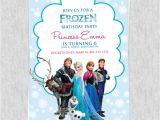 Free Printable Frozen Birthday Invitations Free Frozen Birthday Invitation Template ← Wedding