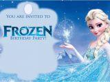Free Printable Frozen Birthday Invitations Free Printable Frozen Invitations