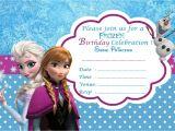 Free Printable Frozen Birthday Invitations Frozen Free Printable Invitation Templates