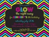 Free Printable Glow In the Dark Birthday Party Invitations 8 Best Images Of Glow Party Invitations Printable Glow