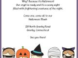 Free Printable Halloween Birthday Party Invitations Templates Cute Trick or Treatsters Halloween Invitation ← Wedding
