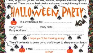 Free Printable Halloween Party Invitations Halloween Party Invitation