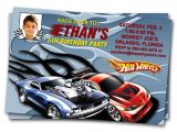 Free Printable Hot Wheels Party Invitations Hot Wheels Birthday Invitations Bagvania Free Printable