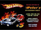 Free Printable Hot Wheels Party Invitations Hot Wheels Invitations Birthday Party Invites