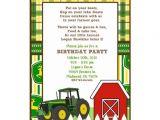 Free Printable John Deere Baby Shower Invitations John Deere Invitation Templates
