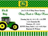 Free Printable John Deere Baby Shower Invitations Unavailable Listing On Etsy