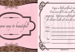 Free Printable Mary Kay Party Invitations Mary Kay Hostess Invitations Printable Training Center
