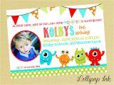 Free Printable Monster Birthday Invitations the Monster Birthday Invitations Printable