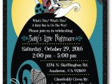Free Printable Nightmare before Christmas Baby Shower Invitations Nightmare before Christmas Baby Shower Favor Tags [di
