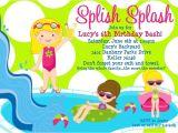 Free Printable Pool Party Invites Free Printable Birthday Pool Party Invitations Free