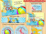 Free Printable Pool Party Invites Printable Pool Party Invitations Template Best Template