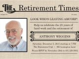 Free Printable Retirement Party Invitations Retirement Flyer Template Free