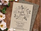 Free Printable Rustic Bridal Shower Invitation Templates 23 Bridal Shower Invitation Templates Free Psd Vector