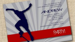 Free Printable Skateboard Birthday Party Invitations 7 Best Images Of Printable Birthday Cards for Guys Free
