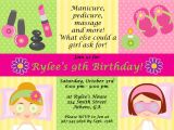Free Printable Spa Party Invitations Templates 7 Best Images Of Spa Party Invitation Printable Free