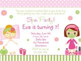 Free Printable Spa Party Invitations Templates Free Spa Party Invitations Printables Girls Invitetown