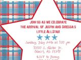 Free Printable Sports themed Baby Shower Invitations themes Free Printable Wording for Sports themed Baby Show