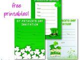Free Printable St Patrick S Day Birthday Invitations Printable St Patrick S Day Invitations