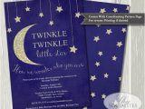 Free Printable Twinkle Twinkle Little Star Baby Shower Invitations Twinkle Twinkle Little Star Baby Shower Invitation Baby