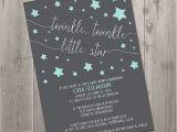 Free Printable Twinkle Twinkle Little Star Baby Shower Invitations Twinkle Twinkle Little Star Baby Shower Invitation Diy
