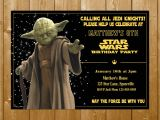 Free Printable Yoda Birthday Invitations Star Wars Birthday – Page 2 – Funpartysupply