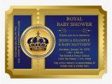Free Royal Prince Baby Shower Invitation Template Custom Royal Baby Shower Invites Templates