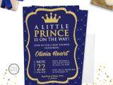 Free Royal Prince Baby Shower Invitation Template Prince Baby Shower Invitation Royal Prince Baby Shower