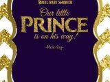 Free Royal Prince Baby Shower Invitation Template Royal Baby Shower Printable Invitations