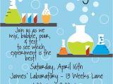 Free Science Birthday Party Invitation Templates Best 20 Birthday Party Invitation Wording Ideas On