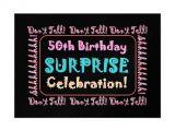 Free Surprise 50th Birthday Party Invitations Templates 50th Birthday Surprise Party Invitations Free Invitation