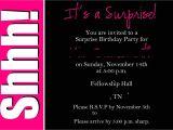 Free Surprise 50th Birthday Party Invitations Templates Surprise 50th Birthday Invitations Templates Invites