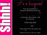 Free Surprise Birthday Party Invitations Surprise 50th Birthday Invitations Templates Invites