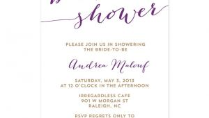 Free Template for Bridal Shower Invitations Free Wedding Shower Invitation Templates Weddingwoow