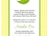 Free Two Peas In A Pod Baby Shower Invitations Two Peas In A Pod Baby Shower Invitations